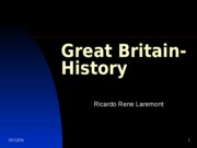Great Britain- History