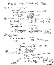 Printables Physics Worksheet physics 12 energy and motion worksheet 5 solutions physws 1 pages 6 solutions