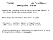 44. Characteristics of Dissipative Forces(1)