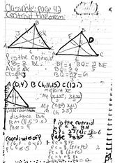 math classnote: page 42: Centroid Theorem