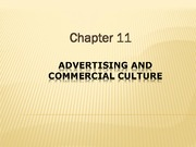 Study Guide on Advetising and Commerical Culture