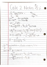 L'Hopital's Rule, Inverse Trig Functions, Hyperbolic Functions, Integration by Parts, Partial Fracti
