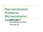 2-28-05--Macroeconomic_Problems_Microeconomic_Solutions