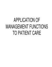APPLICATION OF MANAGEMENT FUNCTIONS TO PATIENT CARE.pdf