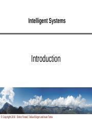 01_Intelligent_Systems-Introduction