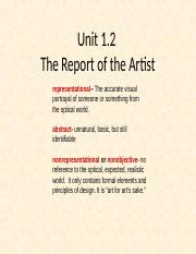 art appreciation unit 3 Art appreciation is a survey of the history of western visual arts, with a primary focus on painting students take a quiz to assess what they have learned.