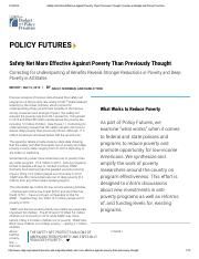 Sherman and Trisi, Safety Net More Effective Against Poverty Than Previously Thought.pdf