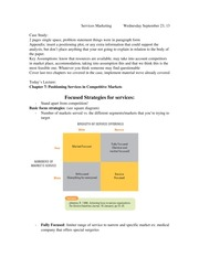 Services Marketing Chap 7 notes