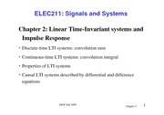 02_linear time invariant system