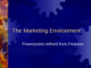 03-The Marketing Environment