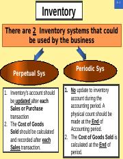 inventory cost methods