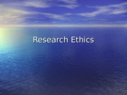 14 - Research Ethics