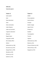 Chapters 12 and 13 Vocab