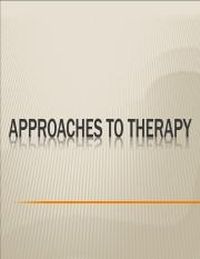 Lecture 22_Approaches to Therapy II_POST.ppt