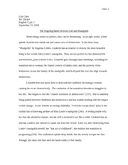 a white heron essay chen lily chen mr dickel english pd  3 pages marigolds essay