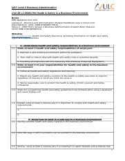 Unit 28 L2 D5061794 Health & Safety in a Business Env.doc
