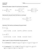 continuity worksheet (1)