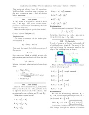 Practice Questions for Exam 2-solutions