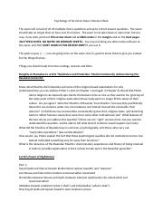 Psychology of Terrorism Exam 2 Review Sheet_Fall2017 (2).doc