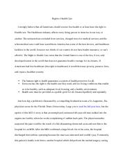 Assignment 1.1 Conflicting Viewpoints Essay - Part 1