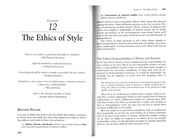 Williams12_Ethics_of_Style