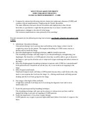 Clinical Prep Worksheet - COPD.docx