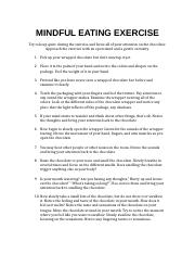 mindful eating essay New research suggests an important addition to the list: at least three recent studies have suggested that mindful eating can improve weight-loss efforts and combat obesity mindfulness may work, the papers propose, because it strengthens the weakest link in most diets: the adherence or compliance problem.