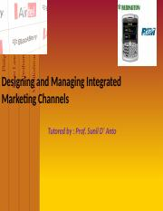 EPGDMS Term 2 - MM - 11 - Designing  Managing Marketing Channels.pptx