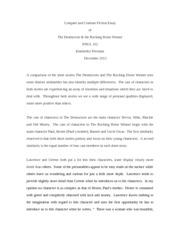 essay of the destructors