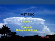Study Guide on Forces and Balanced Motions