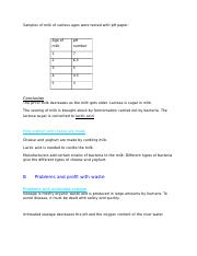 Antibiotics worksheet