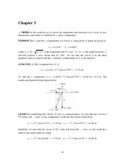 Halliday & Resnick 10th edition chapter 3 solutions