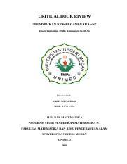 Cbr Pkn Lengkap Docx Critical Book Riview Pendidikan
