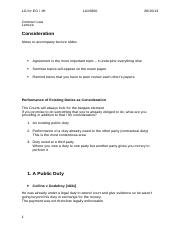 Contract 9 - Consideration