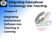 Integrating Educational Technology into Teaching4