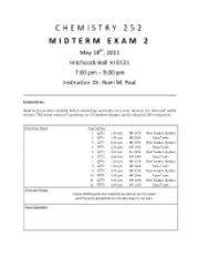 MIDTERM EXAM 2 NMP 252 SP11 - KEY corrected