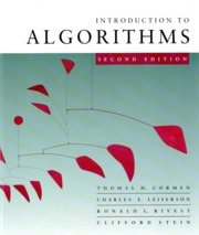 1_split_Introduction to Algorithms 2nd Edition