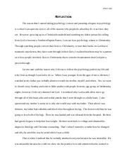 integration of psychology and theology essay