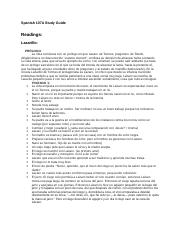 Spanish 107A Final Study Guide.doc