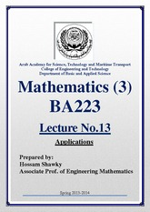 BA223_LECTURE NOTES_2013_1__2_1_Lec No.13