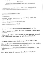 HIV-Aids Information and Quiz