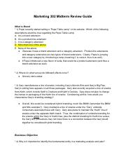 MKT302 Midterm Study Guide .pdf