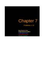 Excel Solutions - Chapter 07
