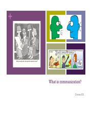 What is Communication .pdf