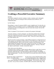 ES Crafting a Powerful Executive Summary (1)