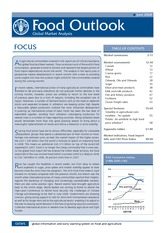 Food outlook. Global market analysis 2008