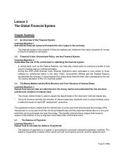L3-The Global Financial System