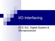 SEMJUL08 - LECT13 - IO INTERFACING COMPLETED