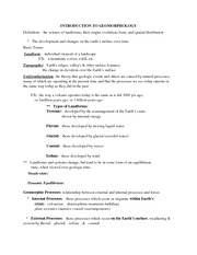 Test 3 lecture notes Geog 1111