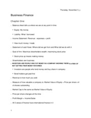Business Finance copy